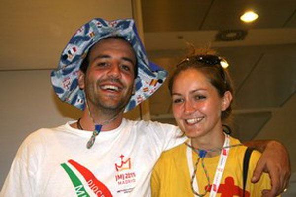 Francesco e Sara durante la Gmg