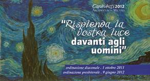 Immaginetta Candidati 2012