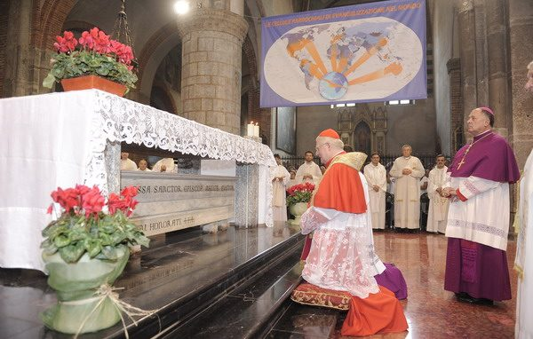 Cardinale Scola_Sant'Eustorgio