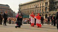 Cardinal Scola Piazza Duomo