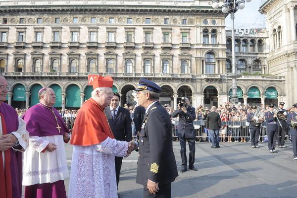 Piazza Duomo Cardinal Scola