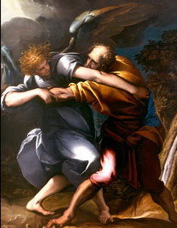 Morazzone Giacobbe lotta con l'angelo