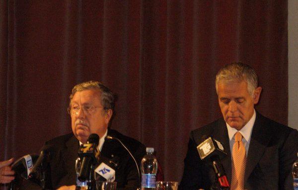 Prefetto Lombardi e presidente Formigoni