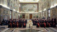 Udienza Pontificio Consiglio Famiglia