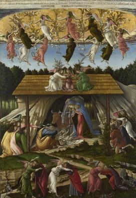 Natività Mistica Botticelli