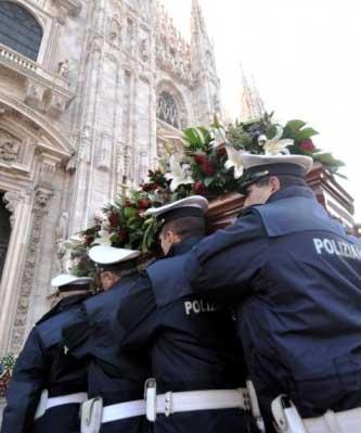 funerali vigile