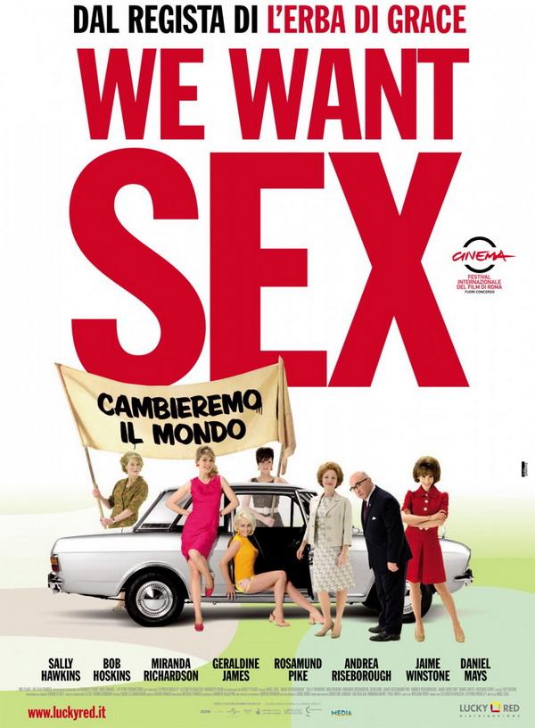 "Locandina ""We Want Sex"""