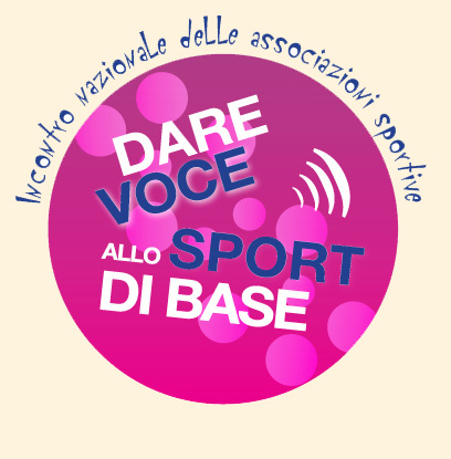 Logo 'Dare voce allo sport di base'
