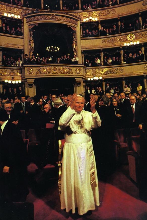 Giovanni Paolo II a Milano