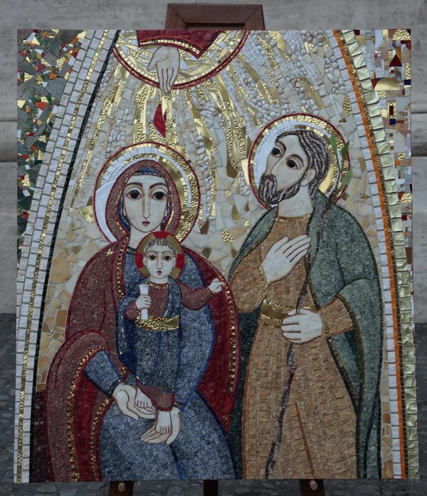 Licona Della Sacra Famiglia Aiuti La Preparazione Di Family