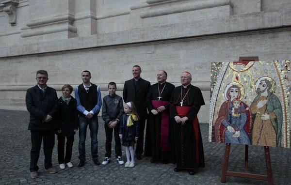 Consegna Icona Sacra Famiglia