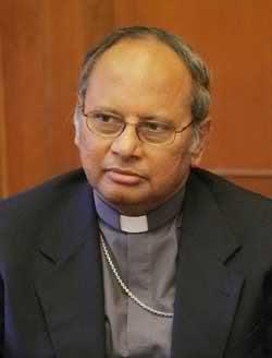 Il cardinale Albert Malcolm Ranjith