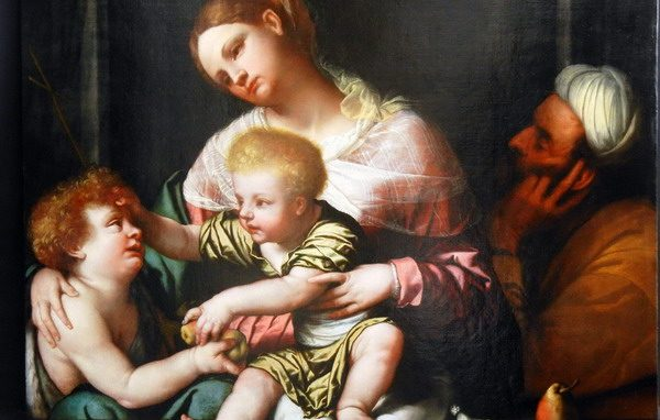 Moretto Sacra Famiglia