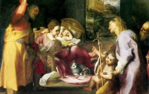 Federico Barocci Madonna Gatta Uffizi