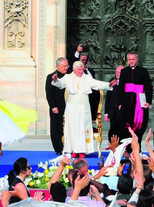 Il Papa a Milano