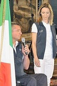 Oscar De Pellegrin e Valentina Vezzali