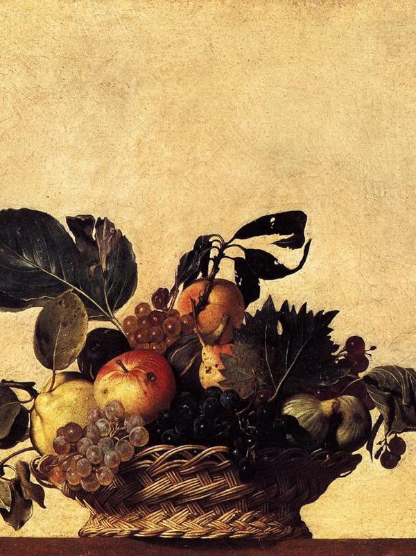 Canestra Caravaggio Ambrosiana