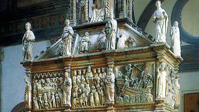 Cappella Portinari arca san Pietro Martire Balduccio da Pisa