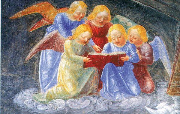 Foppa Cappella Portinari angeli