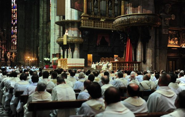 Pontificale 8 settembre 2012