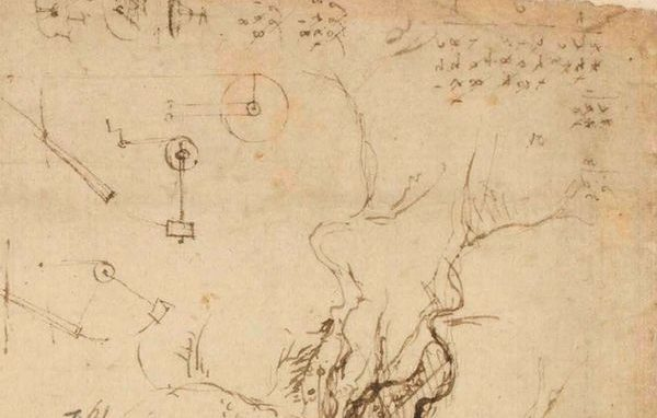 Leonardo Codice Atlantico Ambrosiano