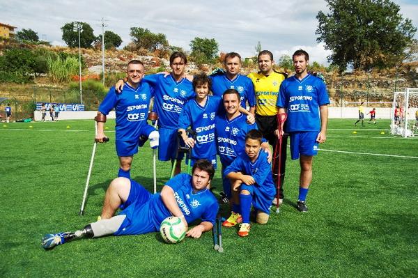 Francesco Messori con la sua squadra
