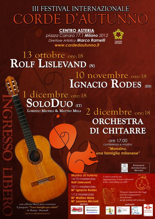 Festival Chitarre Asteria 2012