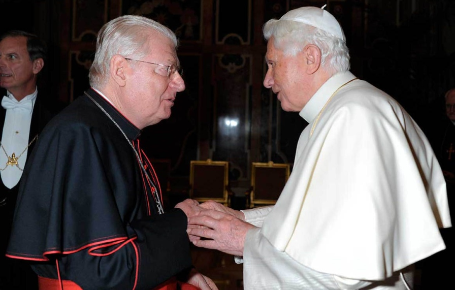Scola e Santo Padre