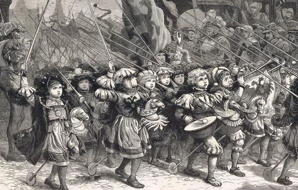Crociata bambini