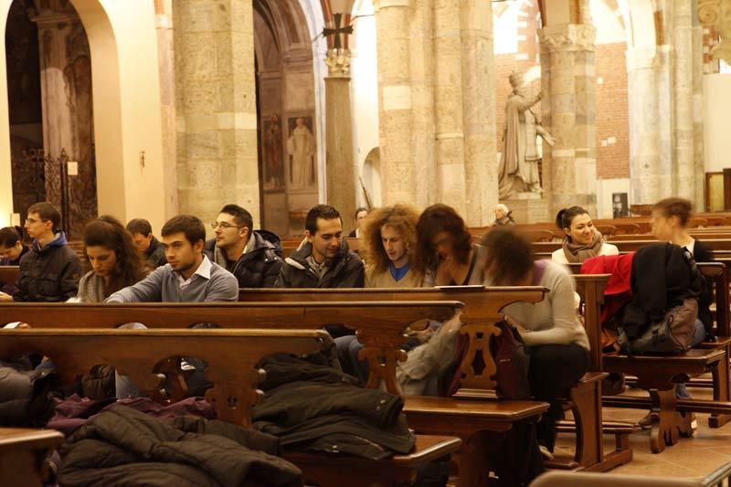 I giovani e il Discepolo amato: <br>un amore profondo e potente