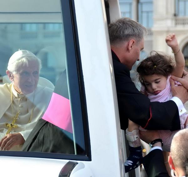 Family2012 Spinolo papa Benedetto XVI