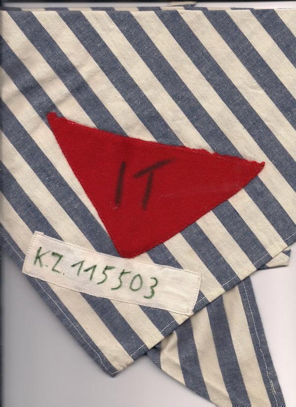 lager nazismo triangolo rosso deportazione