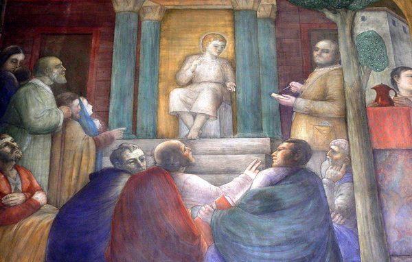 Nereo Achilleo Vanni Rossi Gesù nel tempio