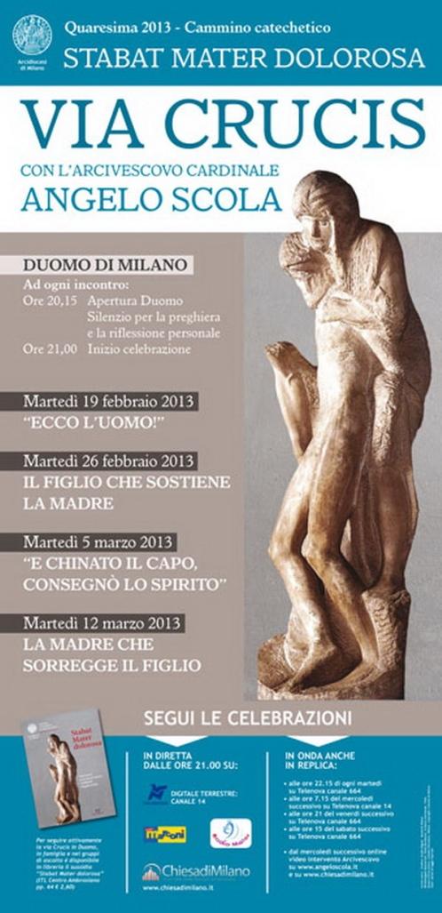 locandina Via Crucis 2013