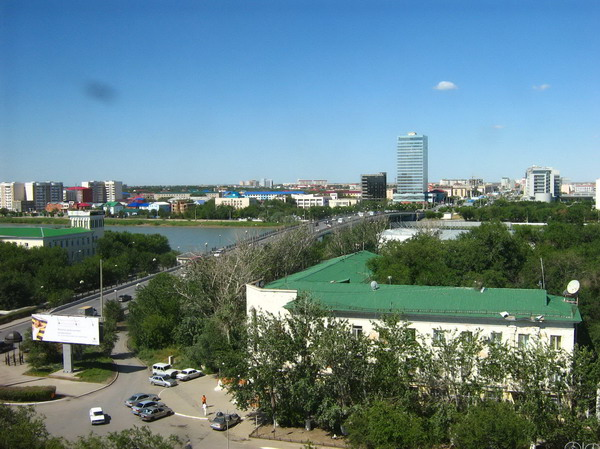 Una panoramica di Atyrau