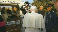 Benedetto XVI_partenza dal vaticano