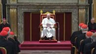 Papa Francesco_udienza ai cardinali