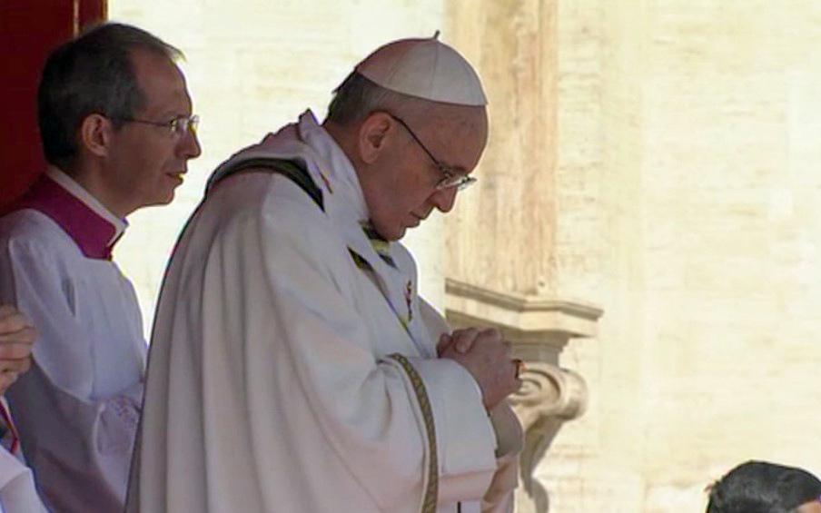 papa francesco inaugurazione pontificato