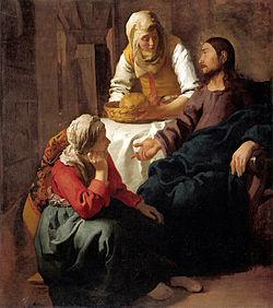 Cristo in casa di Marta e Maria (Vermeer)