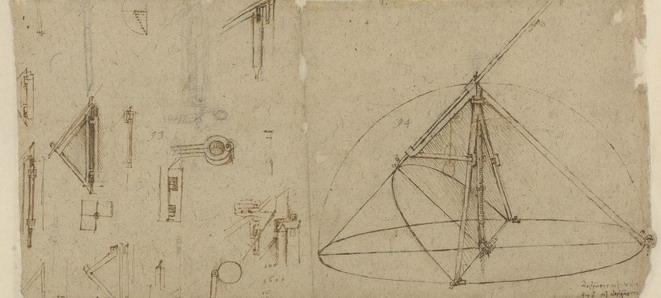 Leonardo Ambrosiana Codice Atlantico