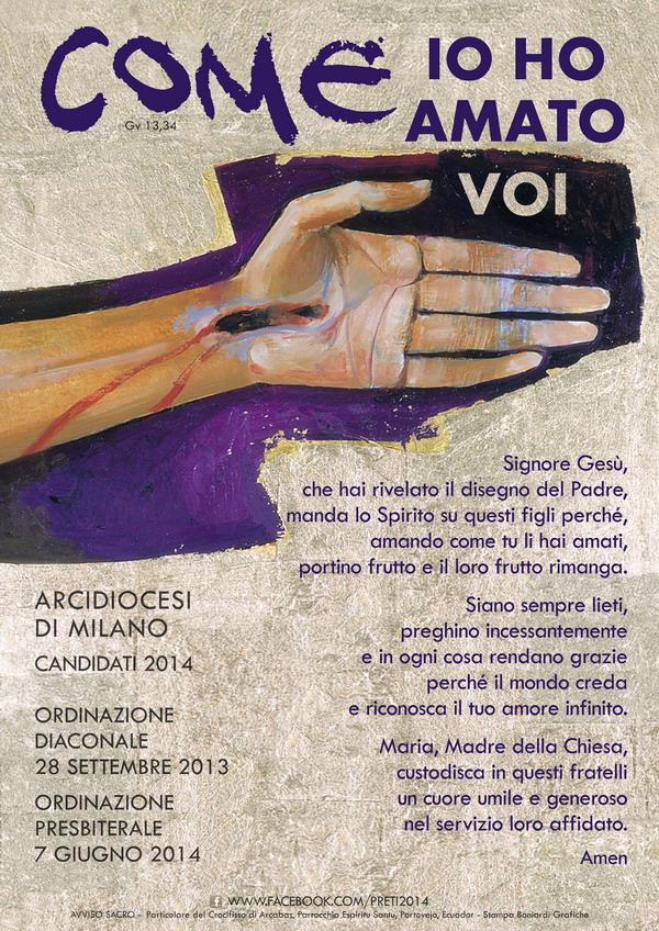 manifesto diaconi 2013