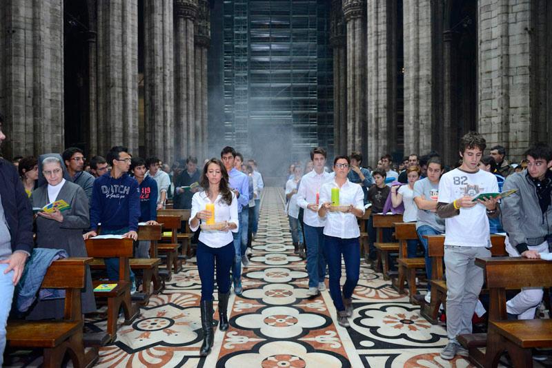 Risultati immagini per giovani nella diocesi di milano