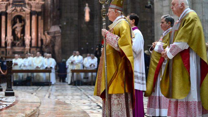 pontificale san carlo 2013