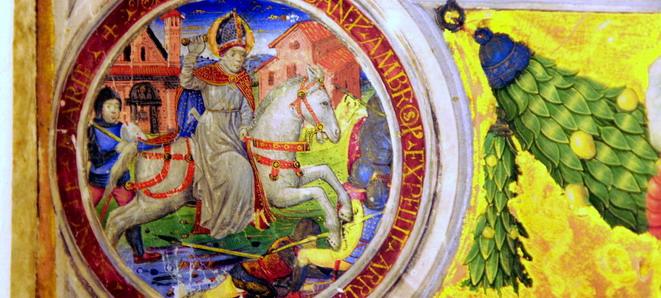 Cristoforo De Predis Sant'Ambrogio Museo Baroffio