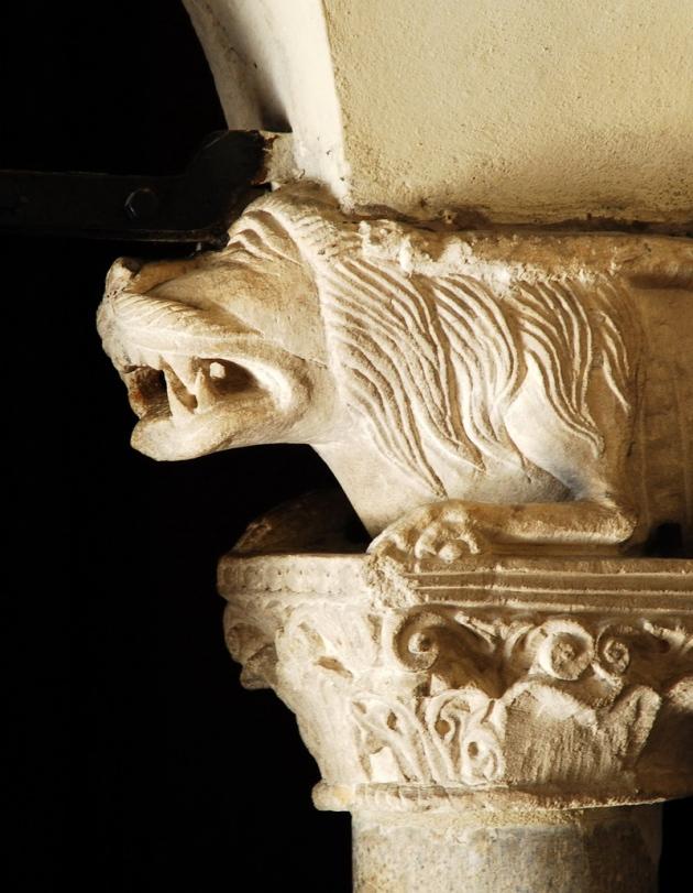 Bestiario leone Sant'Ambrogio