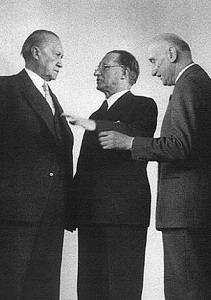 Schuman De Gasperi Adenauer