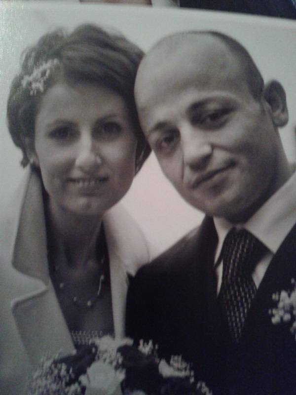 Altjon Marco Nushai e sua moglie Entela Maria