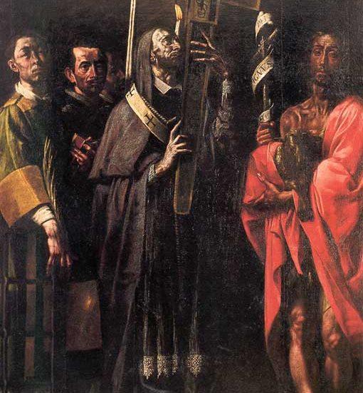 Tanzio Varallo Santo Chiodo san Carlo Borromeo Cellio