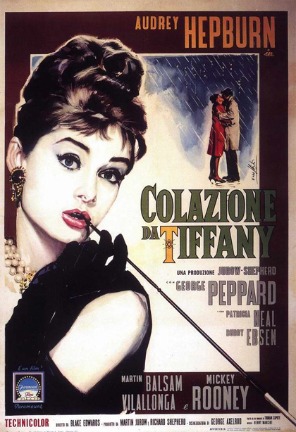 Colazione Tiffany Audrey Hepburn Film