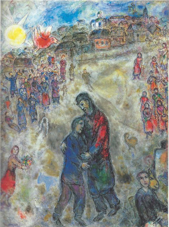 Chagall Bibbia Figliol Prodigo